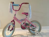 Toddler's pink and white bicycle Markham, L3S