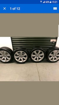 Bmw x5 wheels front 20×40×275 rear 20×35×315 Greater London, E14 0NQ