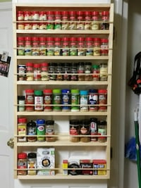 Wooden 6 -layer spice rack  Clinton