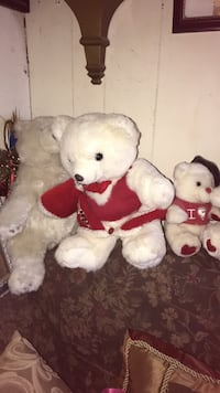 two white and brown bear plush toys Shafter, 93263
