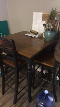 brown wooden table with chairs Northglenn, 80234