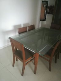 Wooden Dining Table with 6 wooden chairs Surat, 395003