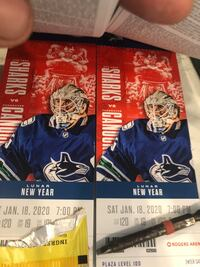 Vancouver Canucks lower bowl tickets  dec 3rd ring of honour night x2 Mission, V2V 4P9