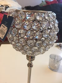 Sparkling tallish candle holder North Vancouver, V7L 1L9