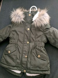 NEW Khaki Winter Coat (Toddler Girl ) Longueuil, J4L 1H6