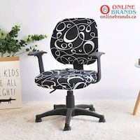 Stretchable Office Chair Cover | Online Brands | Free shipping   Mississauga, L5M 4Y3