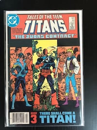 Tales of Teen Titans (First Nightwing, Origin of Deathstroke Comic Book) Mississauga, L5B 0H3