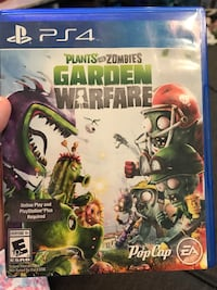 Plants vs Zombies Garden Warfare PS4 game case Provo, 84604