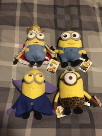 Minion plush collectibles