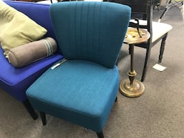 Brand New Blue Occasional Chair