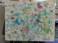 Butterfly & Bubbles painting