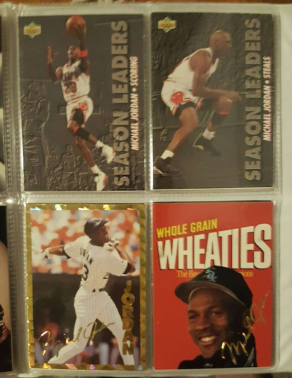 Used Michael Jordan Trading Card For Sale In Cave Junction Letgo