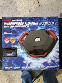 Floating Bluetooth Boombox/Speaker with lights!