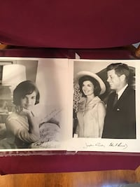Authentic Jacquline Kennedy and John F Kennedy autographs Manchester, 03102
