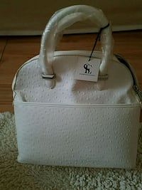 Snob Essentials white SATCHEL  76 km
