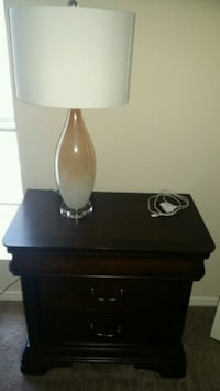 black and white table lamp Mobile, 36608