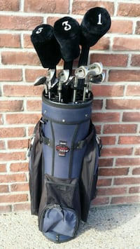 GOLF CLUB SET WITH BAG + ACCESSORIES + GOLF CADDY! Edmonton, T6R 3L6