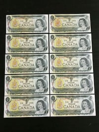 Lot of 10pcs. 1973 Vintage Canadian Scene Series  Calgary, T2R 0S8