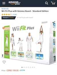 New Wii Fit Plus Balance Board Mississauga, L5M 3C5