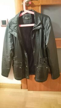 black leather zip jacket L'Hospitalet de Llobregat, 08901