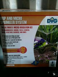 Drip and micro sprinkler system
