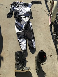 Motocross XL jersey pants and 11 boots. Almost new.  Carlsbad, 92008
