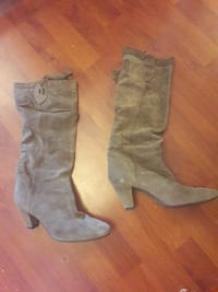 Bottes taupe - taille 38
