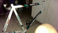 white and green Cannondale bicycle frame New Orleans, 70116