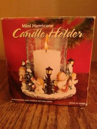 Christmas Mini Hurricane Candle Holder Oshawa, L1J 4Z3
