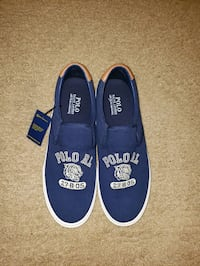 Polo slip-ons mens size 11 navy blue Virginia Beach, 23462