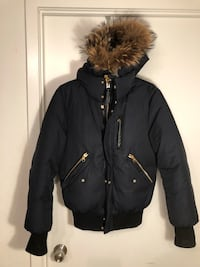 Mackage Hip Length Winter Down Parka With Fur Size: 36 $800 Toronto, M5V