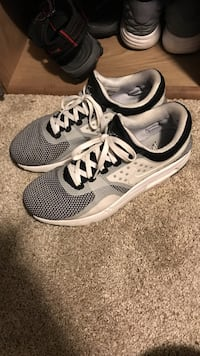 white, black, and gray low-top sneakers Ankeny, 50023