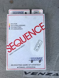 Sequence Travel Game Markham, L3P 4C5