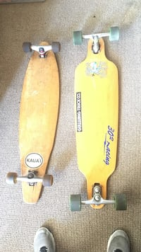 two brown cut-out long boards Laguna Hills, 92653