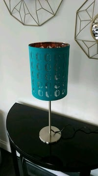 black and blue table lamp Bethesda, 20814
