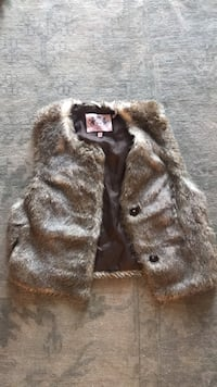 Juicy faux fur vest Washington, 20002
