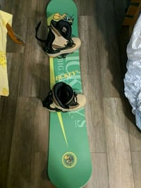 Mickey's big mouth snow board with boots 400 OBO