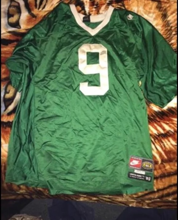 buy popular 103d4 7a9d1 VERY RARE NIKE AIR ST VINCENT ST MARY HIGH SCHOOL OHIO LEBRON JAMES  FIGHTING IRISH HIGH SCHOOL FOOTBALL JERSEY XXXL 3XL NEW WOT I Paid $500  ASKIN $300 ...