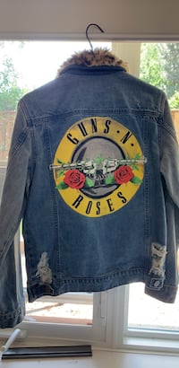 Guns and roses jean jacket brand new S/P Waterloo, N2L 3R7