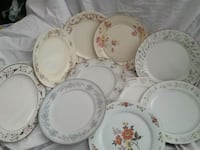 Vintage Mixed Patterns China Dinner Plates Stephens City, 22655