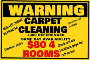 CARPET CLEANING IN SD 21ST AND 22ND SEPT