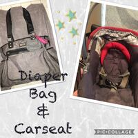 Diaper bag car seat  Bloomington, 92316