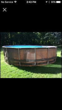 "OUTBOUND 16"" Steel-Frame Above Ground Family Sized Pool. Embro, N0J 1J0"