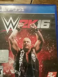 W2K16 PS4 game case Clearfield, 16830