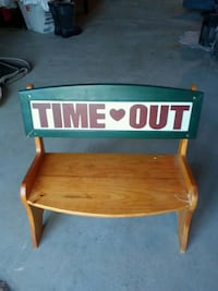 Childrens Time Out Bench/Chair