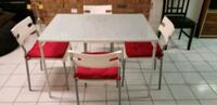 Frosted dining table with seat cushions Vaughan, L4L 5P7