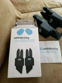 Uppababy Cruz peg perego car seat adapters