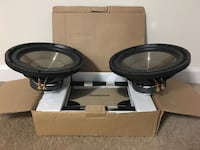 "SALE --> NEW Two 12"" Subs and Amplifier Kit"