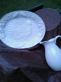 white ceramic plate and bowl New Bern, 28560