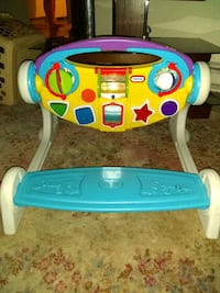 baby's white and blue Fisher Price activity walker Kent, 98042